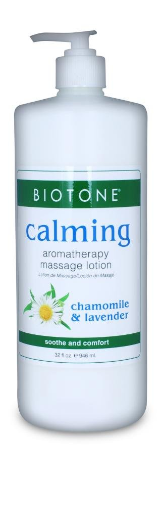 BIOTONE Calming Aromatherapy Massage Lotion - 32oz by Biotone