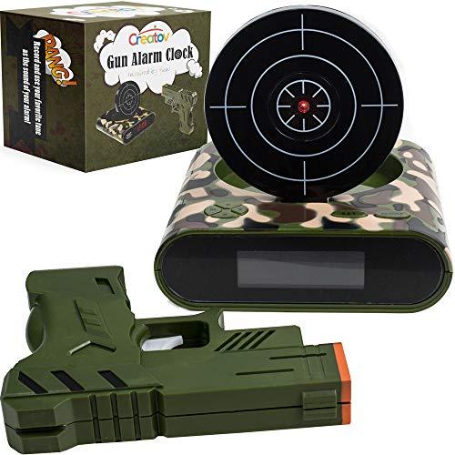 laser gun target alarm clock - 3