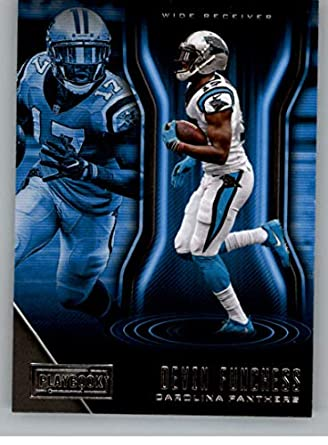 2018 Playbook Football  82 Devin Funchess Carolina Panthers Official NFL  Card Produced by Panini 302a4f3cd