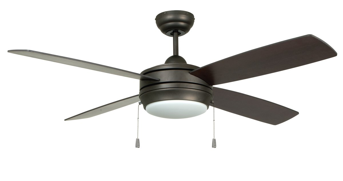 Craftmade LAV52ESP4LK Ceiling Fan with Blades Included, 52''