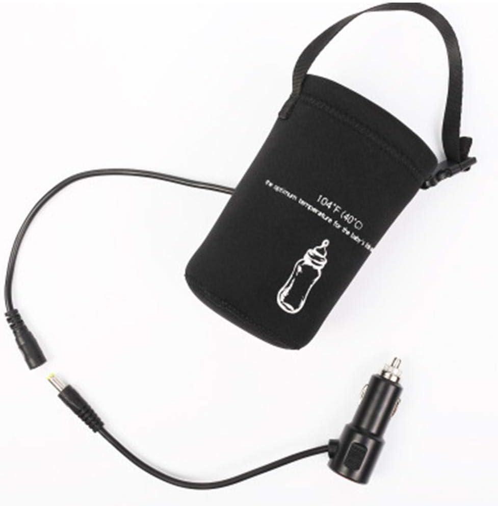 sichere konstante Temperatur 12 V Auto-Milchw/ärmer Duhe Heizger/ät-Adapter f/ür Babymilchflasche