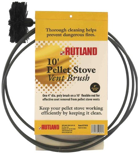 "Price comparison product image Rutland Pellet Stove Brush 4 "" Dia. Poly Fiber 10 Ft."