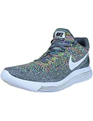 NIKE Mens Lunarepic Low Flyknit 2 Running Shoes Cool Grey 863779-003