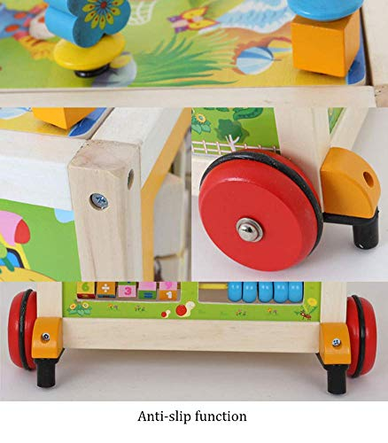 MINISU Infantil Andador de Madera Multifuncional para bebés ...
