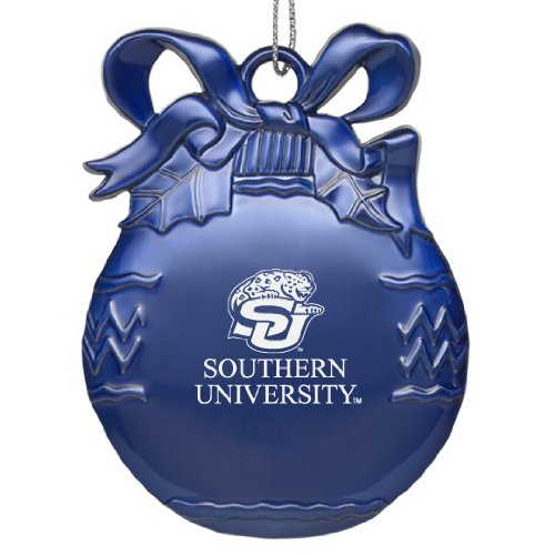 Southern University and A&M College - Pewter Christmas Tree Ornament