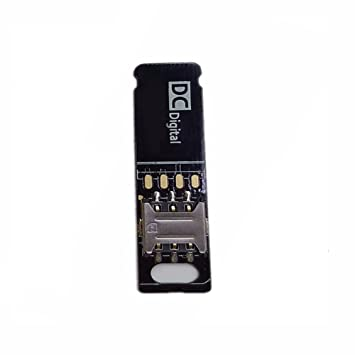 Velidy - Adaptador de extensión para tarjeta SIM para iPhone ...