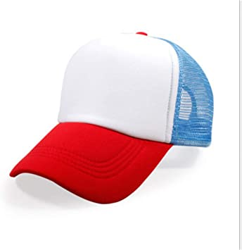 GSFD&DFGW Gorra de Malla de béisbol Stranger Things Dustin Hat ...