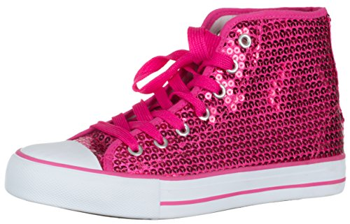 brandsseller Women's Low-Top Sneakers Pink QVgmDJ