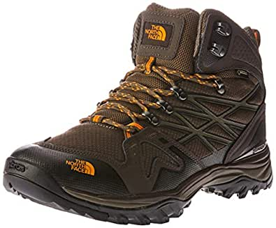 The North Face Men's Hedghog Fp Mid GTX, Shoes, Shrmbn/Brshfror, 8 US