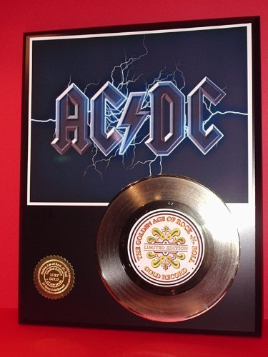 ACDc 24Kt Gold Record LTD Edition Display Gold Record Outlet