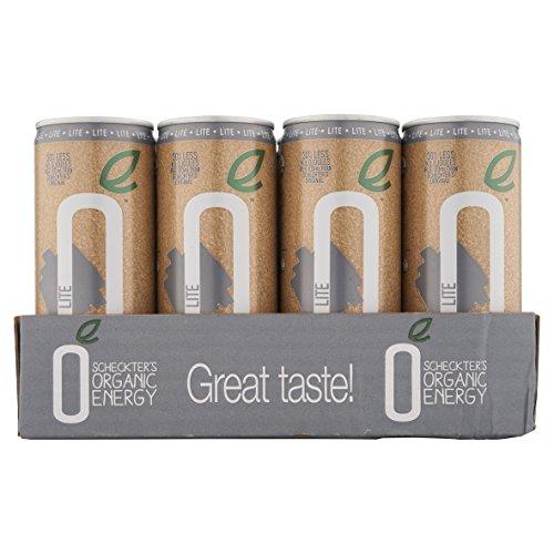 Scheckter's Organic Energy Drink, Lite, 8.4 Ounce (Pack of 12)