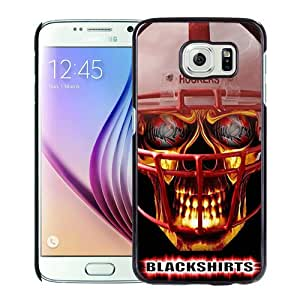 Fashionable And Unique Designed Case For Samsung Galaxy S6 Phone Case With Ncaa Big Ten Conference Football Nebraska Cornhuskers 14 Black