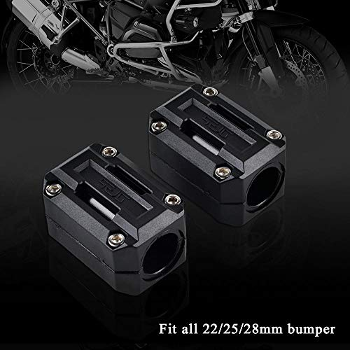 (Motorcycle 22mm 25mm 28mm Engine Protection Guard Bumper Decor Block for KTM 690 950 990 1050 1190 1290 Enduro Adventure ADV)