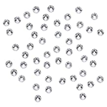 SWAROVSKI ELEMENTS Crystal Rhinestones, #2058 Flatback Xilion No Hotfix, ss12, 50 Pieces, Crystal