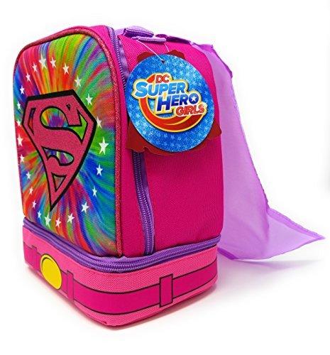 Shoe Fund Money Box (DC Super Hero Girls Lunch Box With a Bonus Detachable Cape!)