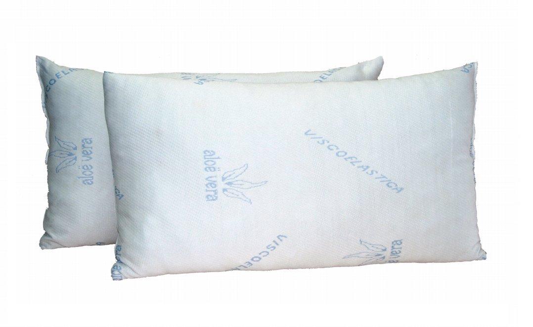 Almohada Viscoelástica Copos 135 Cm, Color Blanco: Amazon.es: Salud y cuidado personal
