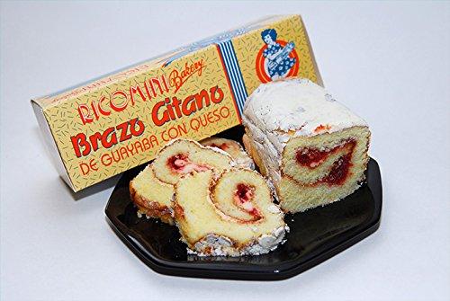 Ricomini Bakery, Puerto Ricos Famous BRAZO GITANO (Artisanal Jelly Roll) VALUE PACK - Guava, FRESH! (3 individual Guava Rolls): Amazon.com: Grocery ...