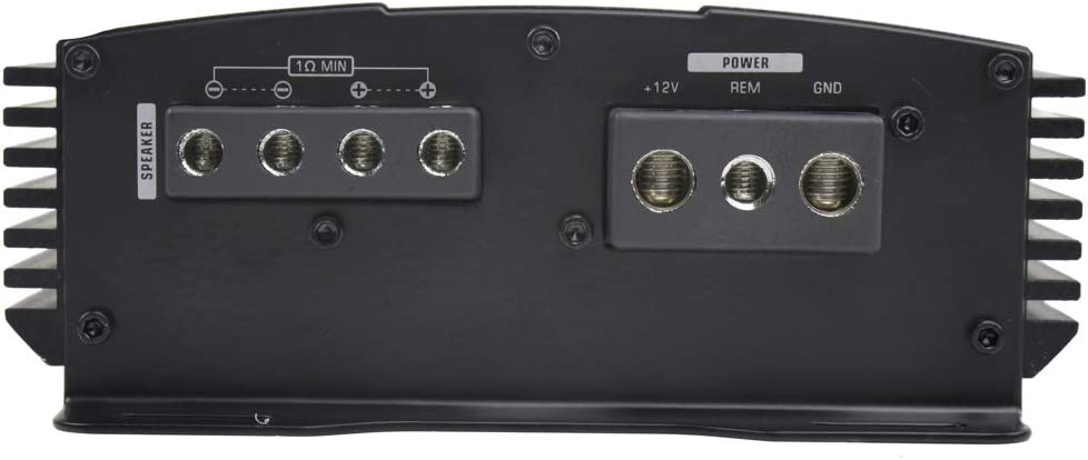 1000W Monoblock Amplifier Class D Amp Car Audio Bass Knob Audiopipe APMN-1300