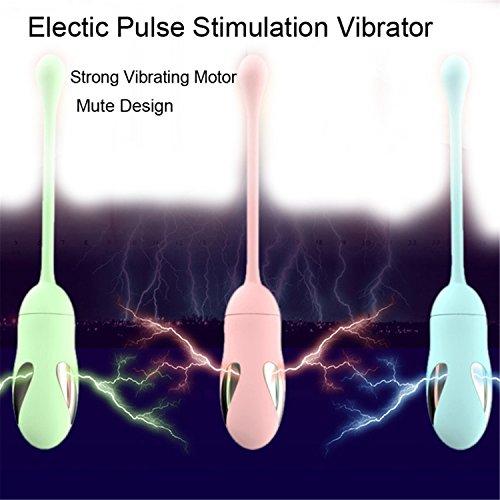 Oak Stick Ball - Mute Electic Pulse Stimulate Vagina Ball Vibrator Jump Egg G-Spot Massager Clitoris Stimulator Masturbation Sex Toys for Women Pink