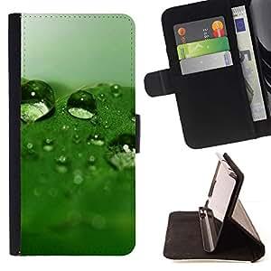 Momo Phone Case / Flip Funda de Cuero Case Cover - Naturaleza Hermosa Forrest Verde 32 - LG OPTIMUS L90
