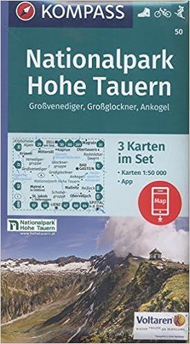 Hohe Tauern Karte.Nationalpark Hohe Tauern Großvenediger Großglockner Ankogel 3