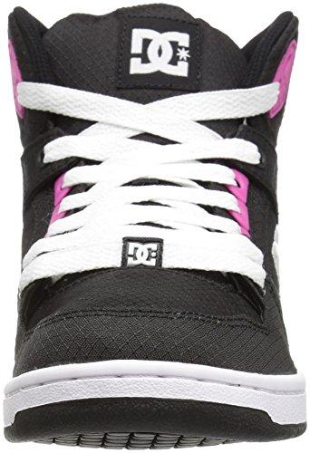 DC ShoesRebound High Tx Se - Zapatillas de Deporte mujer Black/Fuchsia