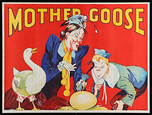 Mother Goose - Premium Movie Poster Reprint 28 by 21 Unframed