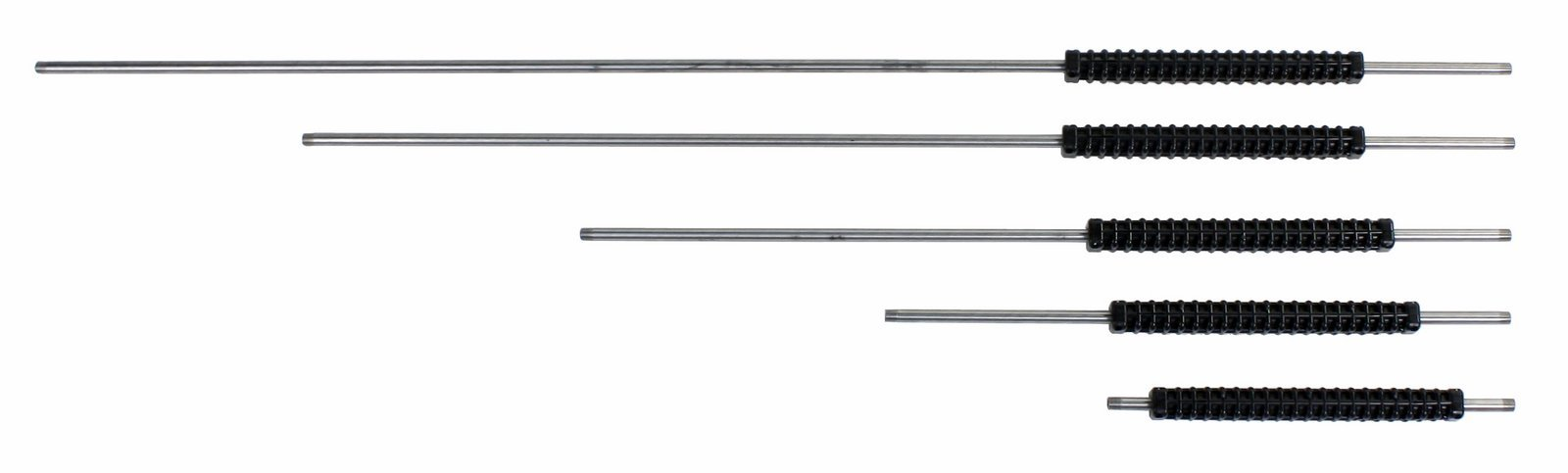 Giant Industries 15.5in. 24in. 36in. 48in. and 60in. Stainless Steel Wands with 12in. Adjustable Grip