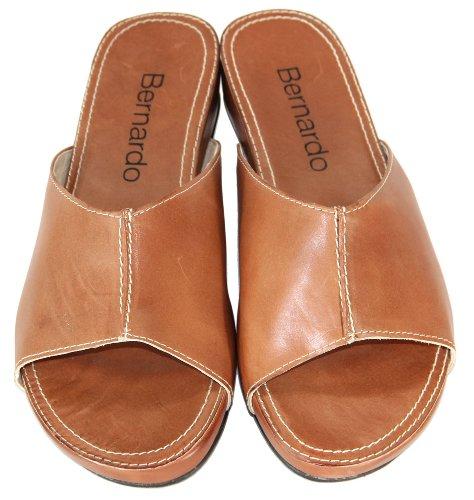 Bernardo Womens Lory Living Slide Sandal Pecan HhP6C7Y8