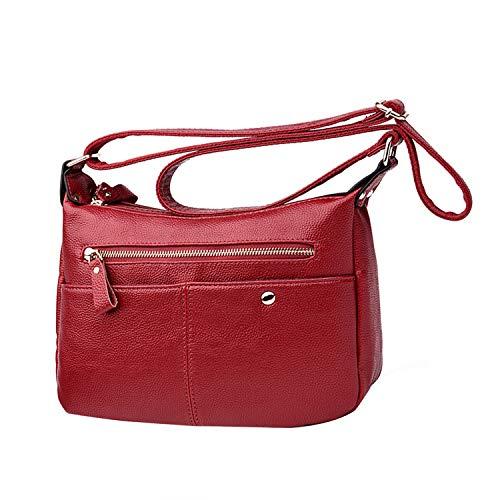 NOTAG , Sac pour femme à porter à l'épaule Taille M Red