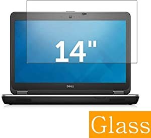 """Synvy Tempered Glass Screen Protector Compatible with DELL Latitude 14 E6440 14"""" Visible Area Protective Screen Film Protectors 9H Anti-Scratch Bubble Free"""