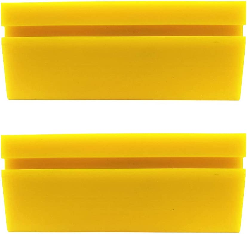 or Water Blade for Home Glass//Mirror//Window Cleaning GUGUGI 4.7 Inch Soft Rubber Squeegee Blade for Car Vinyl Wrapping car Decal Tool Window Tint Film Installation