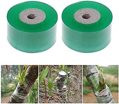 Tofree Rolle Veredelungsband Gartenbedarf Obstbaum Zucht Zubeh/ör 3cm Veredelungsband Selbstklebeband Veredelungsband f/ür Apfelpfirsichbaum Birnenb/äume gr/ün gr/ün