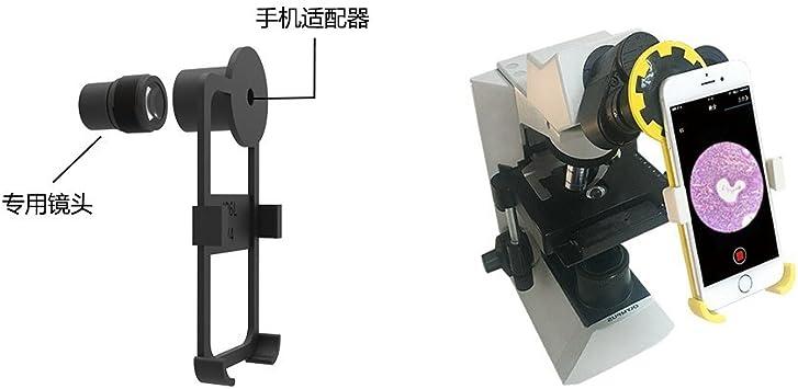 Microscopio Smartphone Adaptador para iPhone 8Plus (Ocular ...