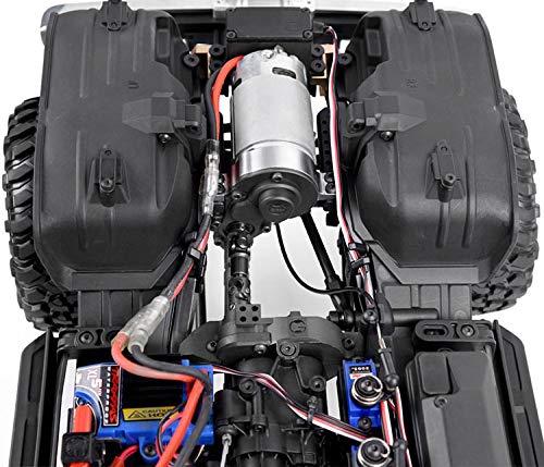 - aikeec GRC TRX4 G2 Motor Pre-Gear Box T4 Front Electric Motor Kit V8 for 1/10 RC TRX-4