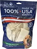 Cheap Pet Factory 78138 Beefhide Dog Chews, 99% Digestible Rawhide Treats, 100% Natural Rawhide Chips, 8 oz Resealable Package, Made in USA