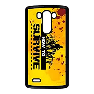 How to Survive LG G3 Cell Phone Case Black gift PJZ003-7540021