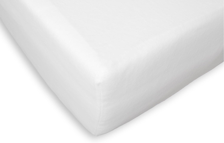Briljant Home bh87158/74000590/Molton Coprimaterasso Solo per topp Materasso Bianco Cotone 70/x 200/x 12/cm