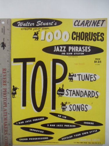 Jazz Phrases Jig Saw System Clarinet (Cr - Famous Clarinet Songs Shopping Results