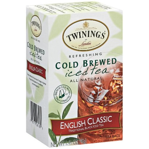 - Twinings English Classic Cold Brew Iced Tea, 40 Count