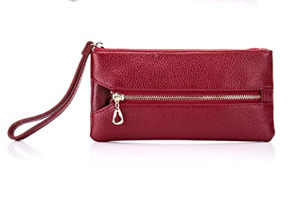 EEKUY Womens Leather Wallet Key Case, Monedero del teléfono ...