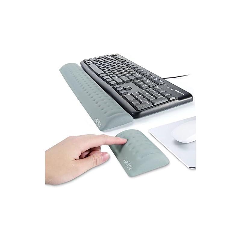 Aelfox Memory Foam Keyboard Wrist Rest&M
