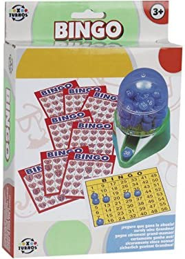 XTURNOS Bingo Juego de Viaje: Amazon.es: Juguetes y juegos