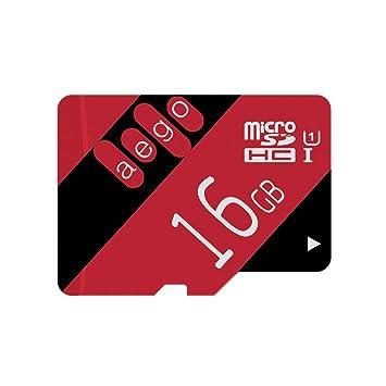 AEGO 16GB Tarjeta Micro SD Clase 10 U1 Tarjeta de Memoria ...
