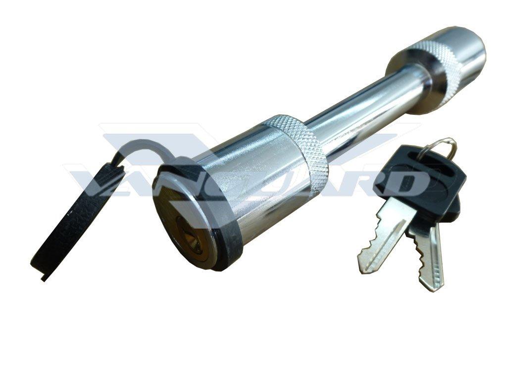 Vanguard Steel Premium 5//8 Hitch Lock Pin for 2 Receivers