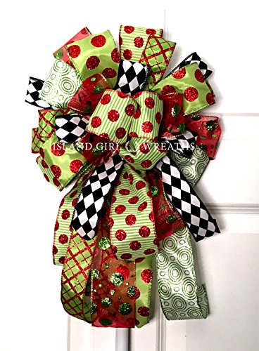 christmas wreath bow christmas wired ribbon christmas wreath bows whimsical christmas bow