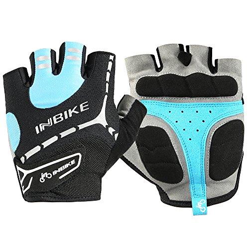 INBIKE Men's Gel Cycling Gloves ...