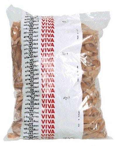 Viva G8X120B Fettuccia in Gomma Naturale, Diametro 120 mm x 8, Marrone VIVA SRL