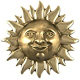 Smiling Sunface Door Knocker - Nickel Silver (Premium Size)