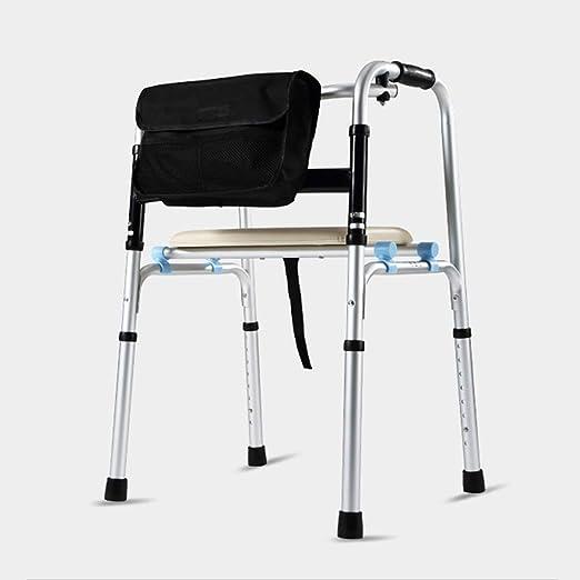 MyAou-Andadores Bastidor para Caminante Mayor Bastón de Aluminio ...